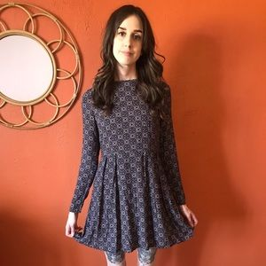 Fashion Union Long Sleeve Mini Dress